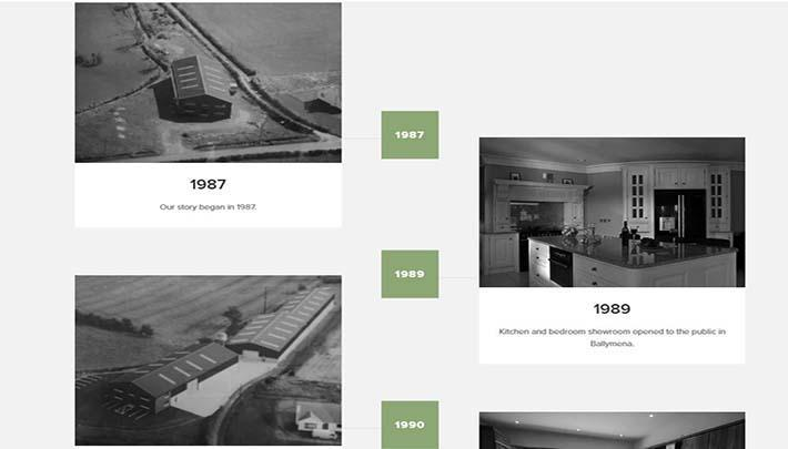 Woodlands new website Our history